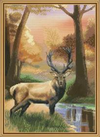 Набор для вышивки крестом Хранитель леса, , 166.00грн., СР4218, Новая Слобода (Нова слобода), Вышивка на дизайнерской канве