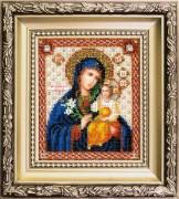 Набор для вышивки ювелирным бисером Икона Божьей Матери Неувядаемый цвет