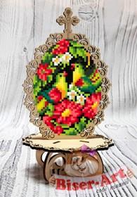 Писанка для вышивки бисером по дереву Птицы Biser-Art 37719 - 99.00грн.