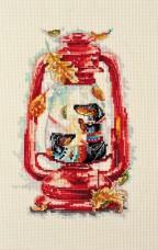 Набор для вышивки крестом Тепло октября Абрис Арт АН-088