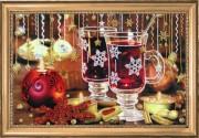 Набор для вышивки бисером Рождественский чай