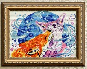 Алмазная мозаика Палитра чувств. Лисички