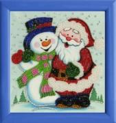 Схема для вышивки бисером на атласе С Новым Годом!