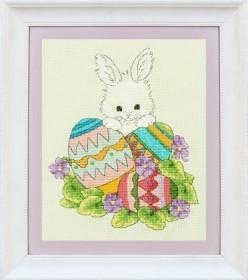 Набор для вышивки нитками Пасхальный заяц, , 259.00грн., VN - 073, OLANTA, Животные