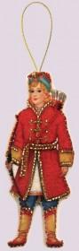 Набор для изготовления игрушки из фетра для вышивки бисером Царевич Баттерфляй (Butterfly) F106 - 54.00грн.