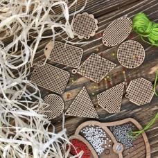 Набор заготовок для вышивания по дереву Волшебная страна FLSW-004