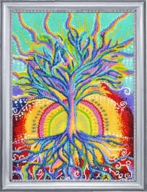 Набор для вышивки бисером Солнечное дерево, , 529.00грн., 379Б, Баттерфляй (Butterfly), Пейзажи