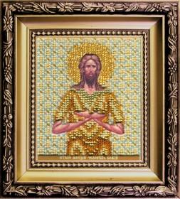 Набор для вышивки бисером Икона святой Алексий, человек Божий, , 172.00грн., Б-1149, Чарiвна мить (Чаривна мить), Именные иконы
