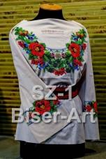 Заготовка для вышивки бисером Сорочка женская Biser-Art Сорочка жіноча SZ-1 (габардин)