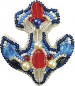 Набор для изготовления броши Якорь Cristal Art БП-206 - 86.00грн.