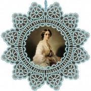 Набор для вышивки подвески бисером Графиня