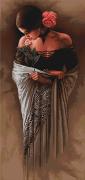 Набор для вышивки крестом Испанка с цветком