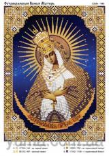 Схема вышивки бисером на атласе Остробрамская Божья Матерь Юма ЮМА-446