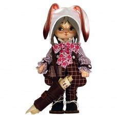Набор для шитья куклы Белый кролик Zoosapiens К1093Z