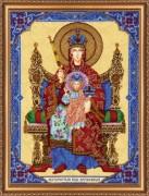 Набор для вышивки бисером Богородица Державная