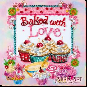 Набор-миди для вышивки бисером на холсте Выпечка от сердца Абрис Арт АМВ-003 - 201.00грн.