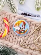 Набор - магнит для вышивки бисером на акриловой основе Сырные сны