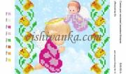 Схема для вышивки бисером на атласе Янголятко--8