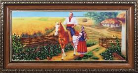Набор для вышивки бисером Козак удалой, , 545.00грн., Б-211 МК, Магия канвы, Украина