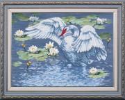 Набор для вышивки бисером Райское озеро