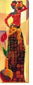 Набор для вышивки бисером Африка 1, , 423.00грн., АВ-466, Абрис Арт, Картины из нескольких частей