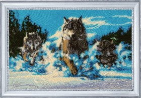 Набор для вышивки бисером Волчья стая Баттерфляй (Butterfly) 651Б - 643.00грн.