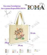 Эко сумка для вышивки бисером Хозяюшка 94 Юма Эко 94