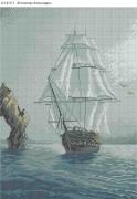 Схема для вышивки бисером на габардине В поисках Атлантиды