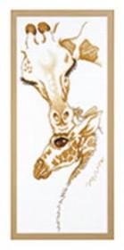 Набор для вышивки крестом Мамин поцелуй Чарiвна мить (Чаривна мить) М-351 - 290.00грн.