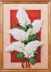 Набор для вышивки бисером Пробуждение Сирень, , 431.00грн., Б-370 МК, Магия канвы, Цветы