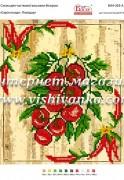 Схема для вышивки бисером на атласе Серія плоди: Помідор
