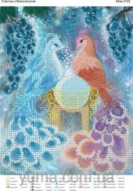 Схема вышивки бисером на атласе Счастье и благополучие Юма ЮМА-3122 - 62.00грн.