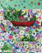 Набор для вышивки бисером на холсте Весна идёт - весне дорогу!