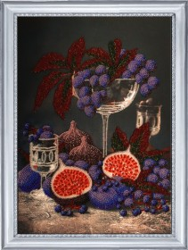 Набор для вышивания бисером Натюрморт с инжиром Баттерфляй (Butterfly) 177Б - 352.00грн.