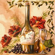 Набор для выкладки алмазной мозаикой Французское вино