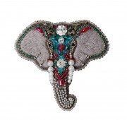 Набор для изготовления броши Слон