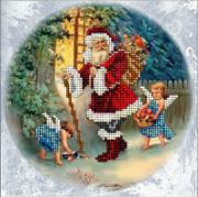 Набор для вышивки ювелирным бисером Рождественские истории 15