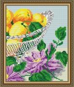 Набор для выкладки алмазной мозаикой В хрустале. Абрикосы Диптих 2