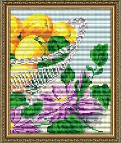 Набор для выкладки алмазной мозаикой В хрустале. Абрикосы Диптих 2, , 280.00грн., АТ5552, Art Solo, Картины из нескольких частей