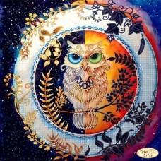 Схема вышивки бисером на атласе Смена дня и ночи Tela Artis (Тэла Артис) ТА-326