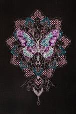 Набор для вышивки крестом Мотылек Абрис Арт АН-119