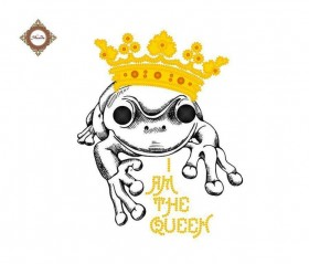 Пошитый клатч для вышивки бисером Queen-Frog