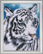 Набор вышивки бисером  Белый тигр