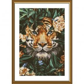 Набор для вышивки крестом на белой канве Рай диких джунглей Новая Слобода (Нова слобода) РЕ3513 - 298.00грн.