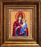Набор для вышивки бисером Икона Божьей Матери Иверская