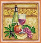 Набор для вышивки бисером Вино и виноград