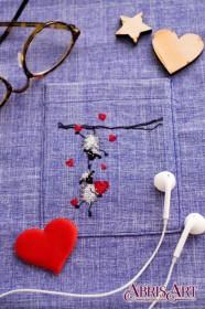 Набор для вышивки крестом на одежде Веселые барашки Абрис Арт АНО-005 - 115.00грн.