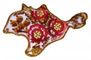 Набор - магнит для вышивки бисером Карта Украины АР Крым