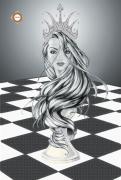 Схема для вышивки бисером на атласе Ты - Королева!