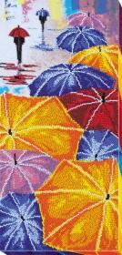 Набор для вышивания бисером Зонтики Абрис Арт АВ-713 - 499.00грн.